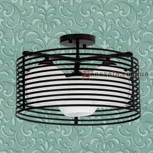 Светильник потолочный Loft 707X9800-3 черный
