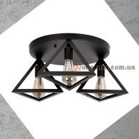 Люстра потолочная Loft 756XPR220F-3 BK (400)