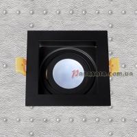 Точечный металлический светильник 9055504 черный