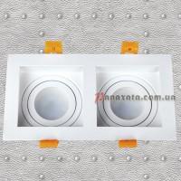 Точечный металлический светильник 9055505 белый