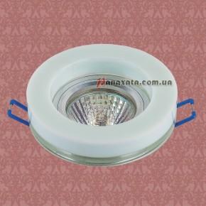 Точечный стеклянный светильник 705936 WH-CL