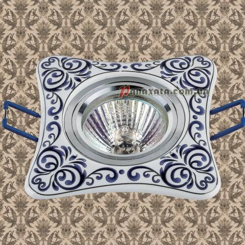 Точечный керамический светильник 70595BLUE