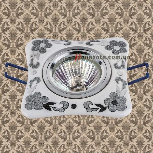 Точечный керамический светильник 70597CR