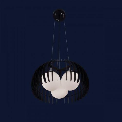Люстра подвесная 7076126-3 черная