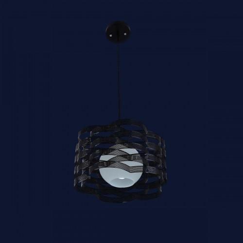 Люстра подвесная 7076154-1 черная