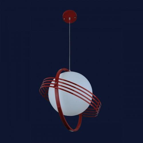 Люстра подвесная 7076195-1 красная