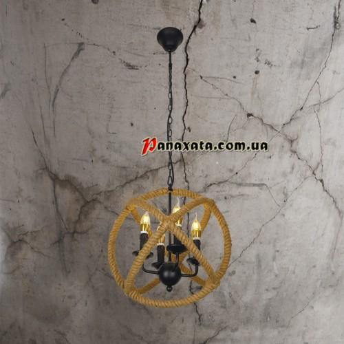 Люстра подвесная Rope Loft 7079179-4 Е14