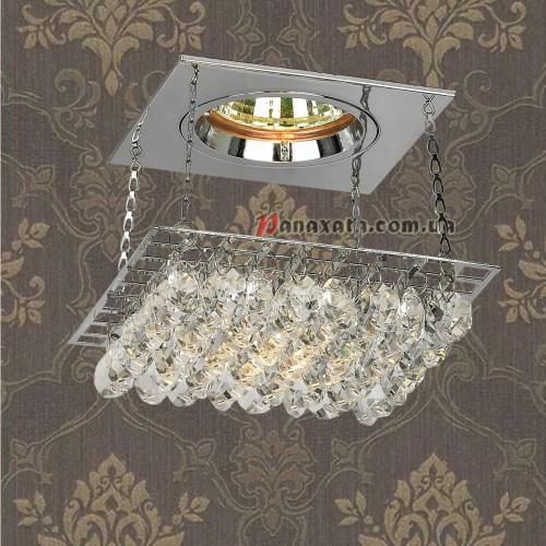 Точечный потолочный светильник 712A2019 CH-CL