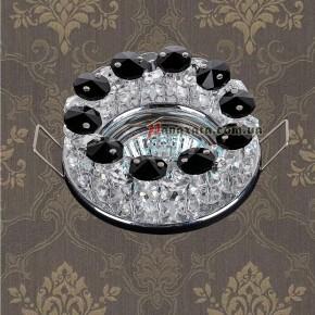 Точечный потолочный светильник 712A2186 CH-BLACK
