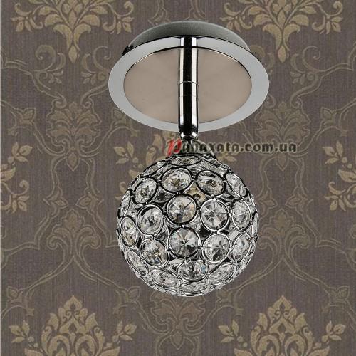 Точечный потолочный светильник 712A3606-1 CH-CL G9