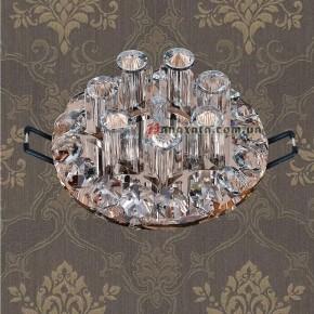 Точечный потолочный светильник 712A3654 BROWN-CLEAN G4