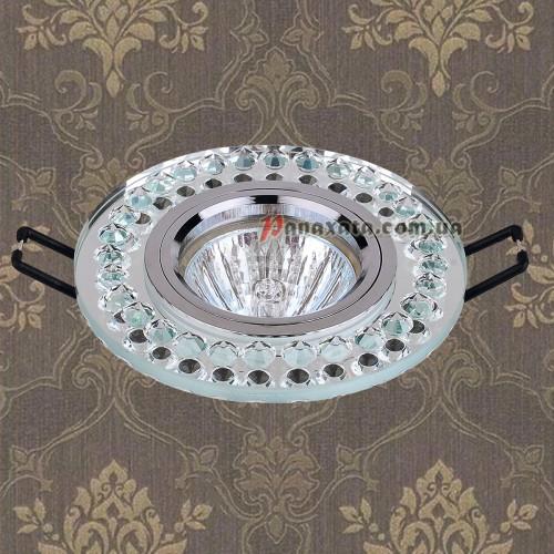 Точечный стеклянный светильник 716026