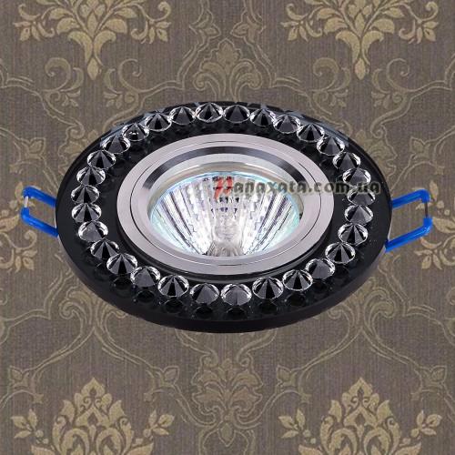 Точечный стеклянный светильник 716028