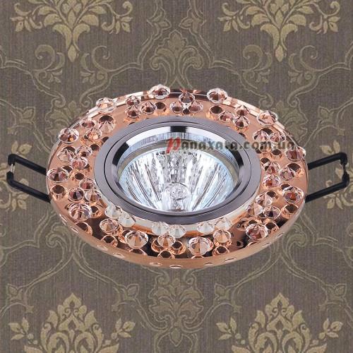 Точечный стеклянный светильник 716089