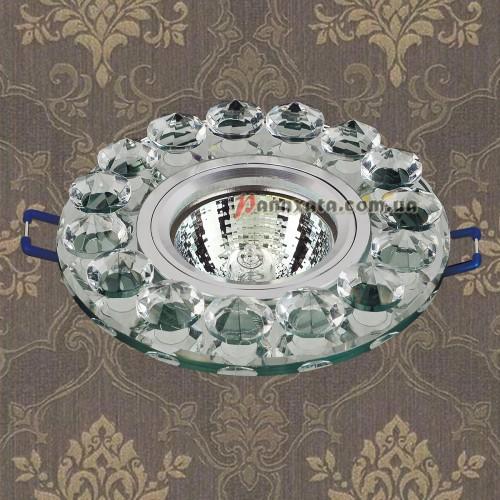 Точечный стеклянный светильник 716096