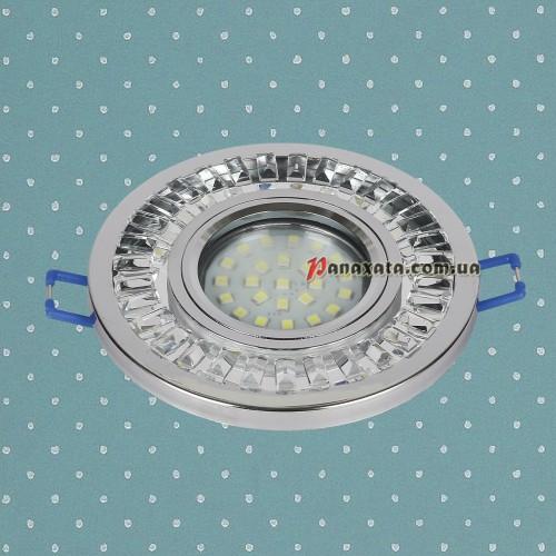Точечный led светильник 716MKD-C20 хром