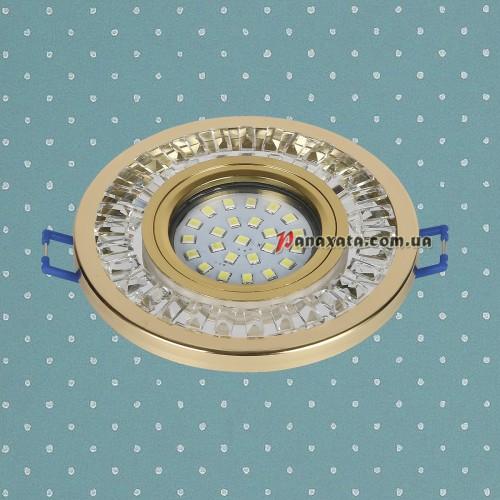 Точечный led светильник 716MKD-C20 золотой