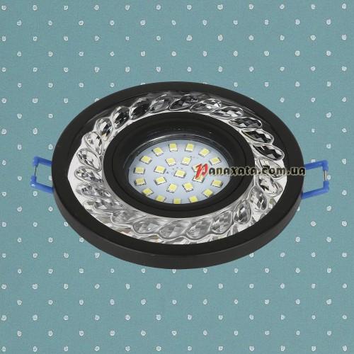 Точечный led светильник 716MKD-C21 черный