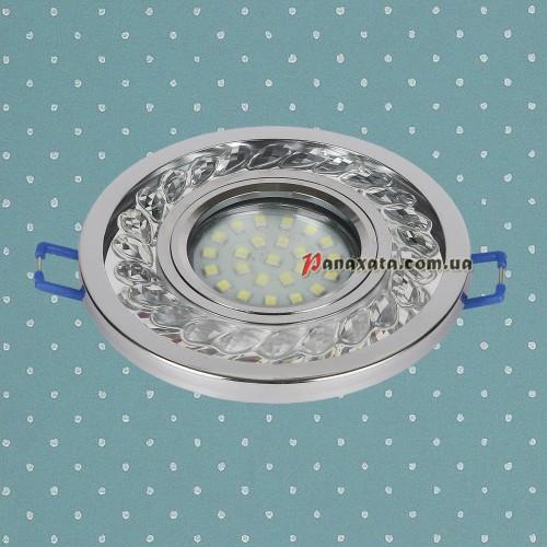 Точечный led светильник 716MKD-C21 хром