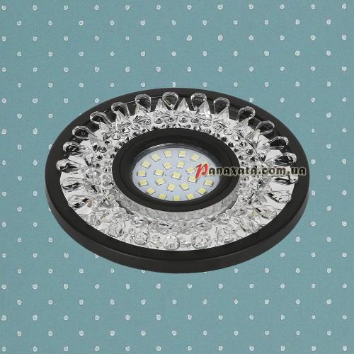 Точечный led светильник 716MKD-C22 черный