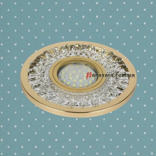 Точечный led светильник 716MKD-C22 золотой