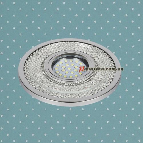 Точечный led светильник 716MKD-C23 хром