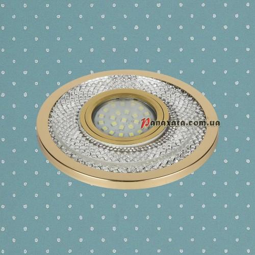 Точечный led светильник 716MKD-C23 золотой