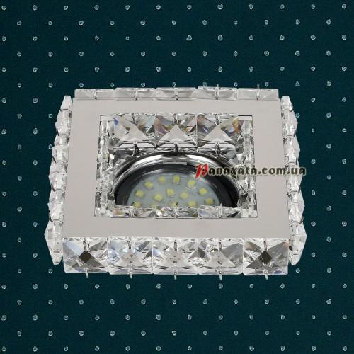 Точечный потолочный светильник LVC24F хром