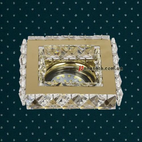 Точечный потолочный светильник 716MKD-C24F золотой