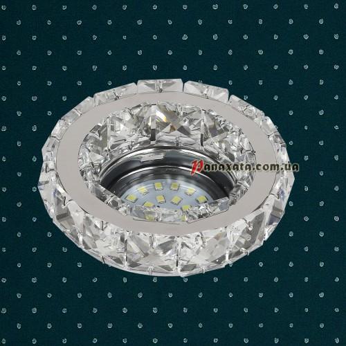 Точечный потолочный светильник LVC24Y хром