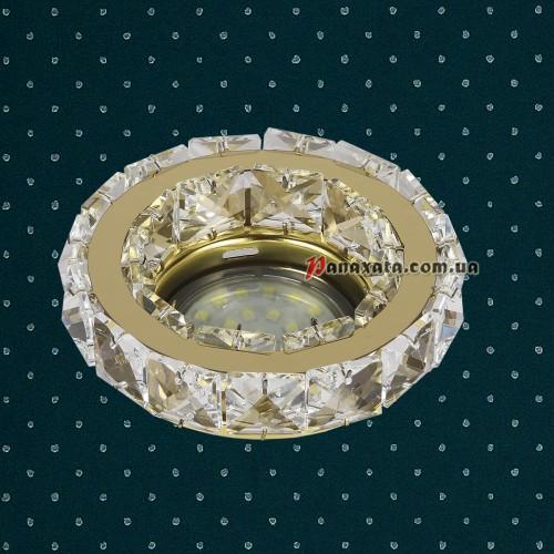 Точечный потолочный светильник LVC24Y золотой