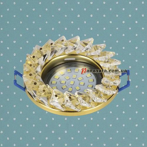 Точечный потолочный светильник 716MKD-C25 золотой