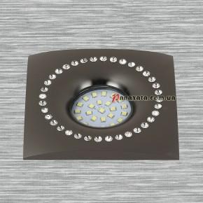 Точечный металлический светильник 716MKD-C26F черный