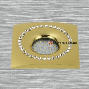 Точечный металлический светильник 716MKD-C26F золотой