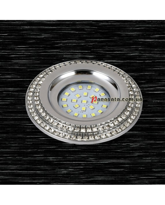 Точечный металлический светильник 716MKD-C28 хром