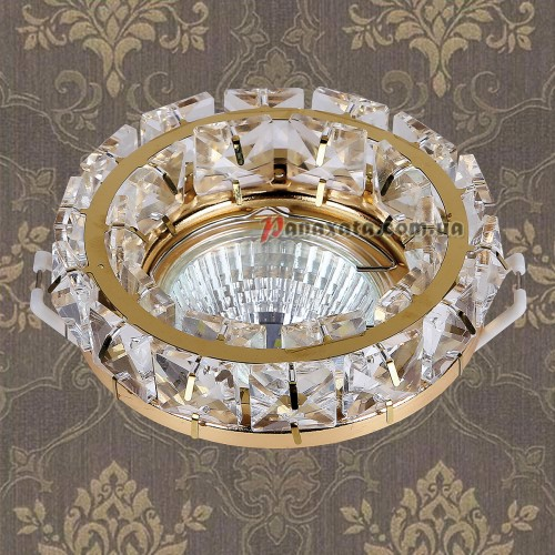 Точечный потолочный светильник 716MKD030 GD