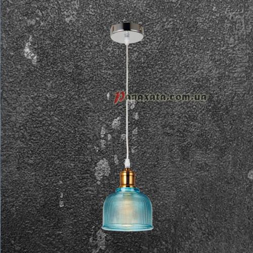 Люстра подвесная Loft 72081292-1 синий