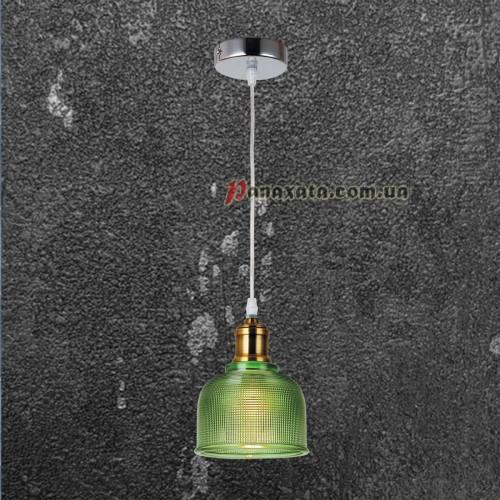 Люстра подвесная Loft 72081292-1 зеленый