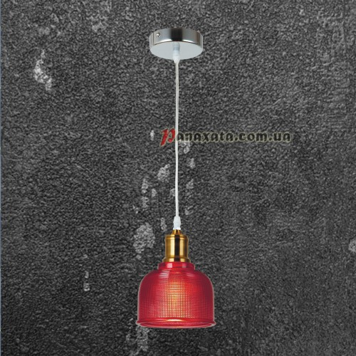 Люстра подвесная Loft 72081292-1 красный