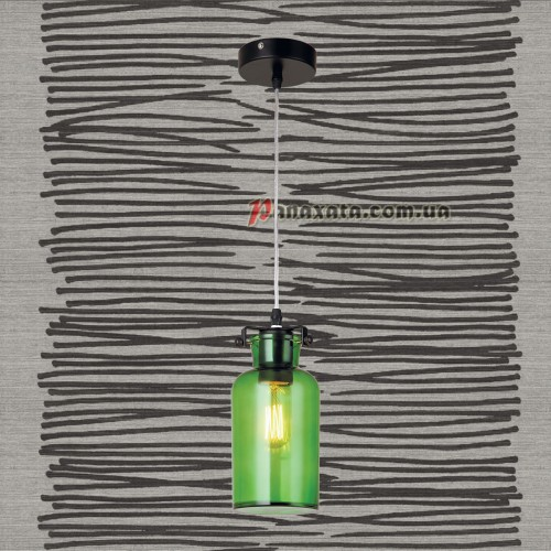 Люстра подвесная Loft 720P81103-1 зеленый
