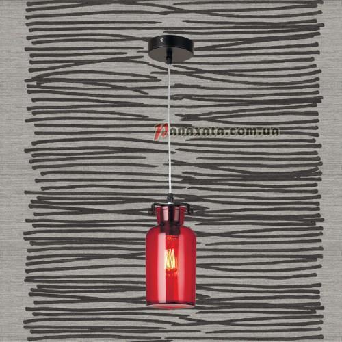 Люстра подвесная Loft 720P81103-1 красный