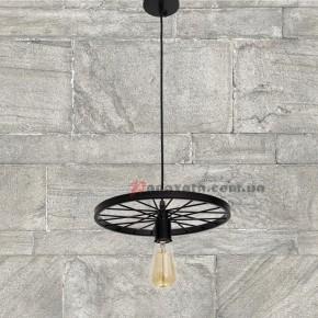Люстра подвесная Loft 746WXA012-1 черная