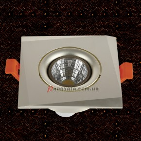 Точечный металлический светильник 7471241 aluminum satin