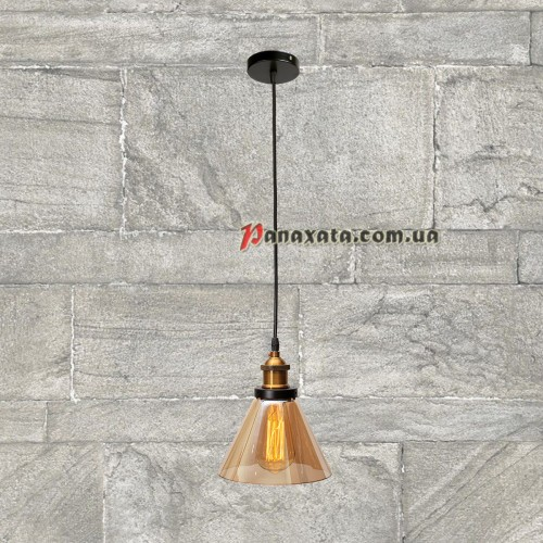 Люстра подвесная Loft 750MD41098-1 коричневая