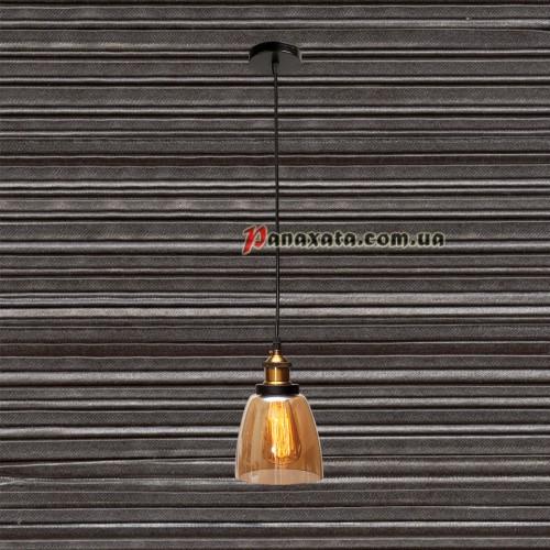 Люстра подвесная Loft 750MD41099-1 коричневая