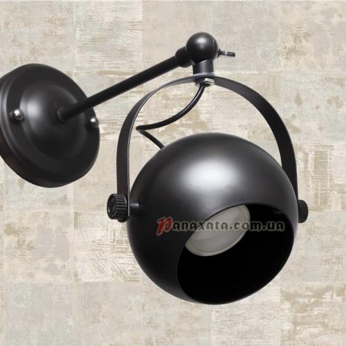 Светильник подвесной Loft 7521209A-1 Bk GU10