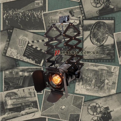 Прожектор трековый 75214 BK черный