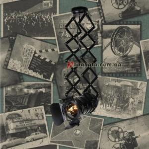 Прожектор потолочный 75215 BK черный