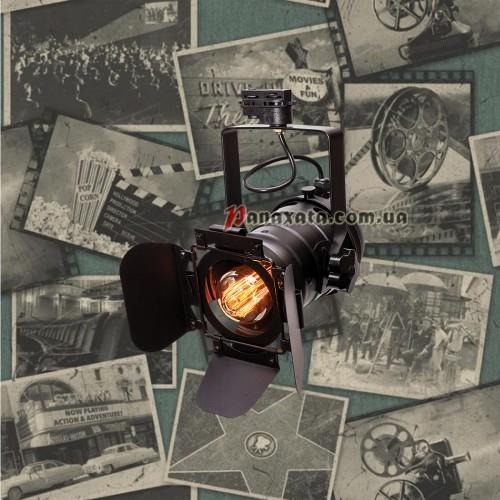 Прожектор трековый 75219 BK (trek) черный