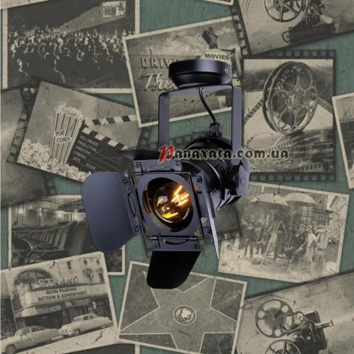 Прожектор потолочный 75220 BK черный